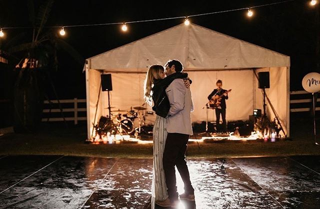 dancing to wedding entertainment