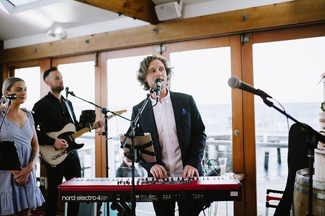 wedding band playing live