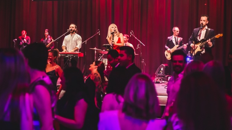 corporate entertainment band